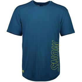 Mons Royale MTN X T T-Shirt Herr oily blue
